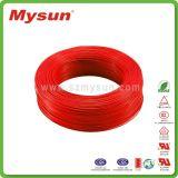O certificado do VDE de Shen Zhen Mysun estanhou o fio elétrico de cobre de FEP
