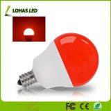 Nueva llegada G14 de la luz de la Decoración Lámparas de luz roja de 5W equivalente de 40W Bombilla LED E12