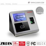 La máxima calidad varios datos biométricos de huella dactilar Facial tiempo asistencia
