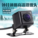 Universal Waterproof Night View Rearview Mini Car Camera com LED
