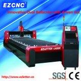 Cortadora dual del laser de la fibra del acero inoxidable de la transmisión del tornillo de la bola de Ezletter (GL1550)