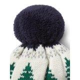 Mecanismos Jacquard Hat Beanie Hat POM POM chapéu de malha
