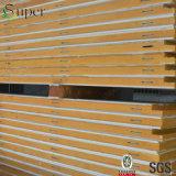 Panneau de Puf PIR Psandwich de polyuréthane de qualité pour le mur/toit