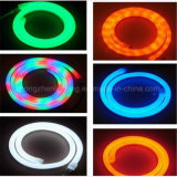 220 V 15*25mm LED RGB DMX de neón del controlador de la luz de la cuerda al aire libre con tira de la iluminación de neón de paisaje