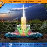 Современная мода воды музыку танцуют пруд фонтан