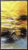 Pintura al óleo moderna de la lona de la decoración de la pared de la sala de estar en línea