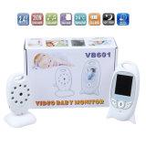 Novo Vb601 2.4G Monitor de vídeo sem fios para bebés Two-Way Talk Security