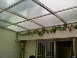알루미늄 프레임 섬유유리 지붕 차 대피소