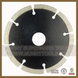 Защитный зубов Turbo сегментированных алмазных пильного полотна для гранита, песчаника