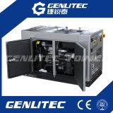 Beweglicher wassergekühlter leiser Dieselgenerator 10kVA