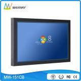 Компьютер экрана касания держателя стены Windows Linux системы 15 дюймов неразъемный (MW-151CB)