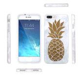Kreativer bronzierender Ananas-Telefon-Kasten-Deckel für iPhone X