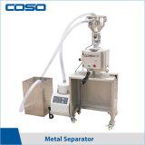 粉状の製品のための自動挿入の重力の金属の分離器の金属探知器