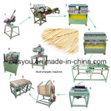 La Chine cure-dents de bambou Stick rendant la production gamme de machines