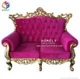 Insieme domestico antico del sofà del sofà 1+2+3 delle sedi della mobilia tre