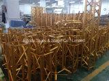 Goldener Aluminiumbinder in den Ausstellung-Ereignissen