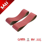 Sali de la marca China abrasivos de alta eficiencia de la banda lijadora de madera metal