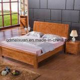 固体木のベッドの現代ダブル・ベッド(M-X2341)