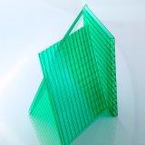 Doppelwand-Höhlung-Polycarbonat-Blatt-Ausdauer verwendet in der Technik