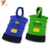 Étiquette de déplacement de bagage de PVC de nécessité (YB-t-010)