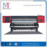 2018 Novo 1,8M DX7 impressora jato de tinta lateral duplo Impressora Solvente ecológico