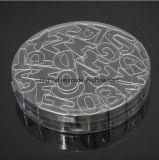 Formes de coupeurs de biscuit de lettre réglées par coupeurs de biscuit