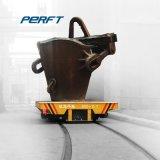 Под действием электропривода железнодорожной платформы прицепа для тяжелого режима работы машины