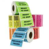 Стикер опарника продукта питания печати дешевый изготовленный на заказ на крене