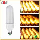 Las lámparas LED lámpara de fuego de emulación de parpadeo de la decoración de Navidad ilumina el LED de luz de LED Lámparas de fuego de simulación