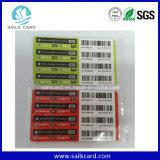 Hot vender tarjetas de rascar de prepago, tarjetas de teléfono