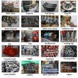 Il freno a tamburo di lusso dei pezzi di ricambio del bus di Yutong parte i tamburi del freno posteriori
