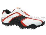 Cuero OEM picos impermeable a los hombres zapatos de golf