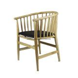 Réplique de meubles en bois chaise de salle à manger du siège de PU pour l'utilisation de café