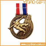 Comercio al por mayor de la medalla de deporte personalizadas con el precio de fábrica directamente (YB-MD-63)