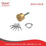 El cilindro de latón con cerradura de puerta de seguridad gire la perilla con clave de la cruz