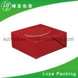 Rectángulo de empaquetado cosmético del regalo de papel rígido del protector de la espuma