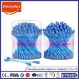 Il cotone di plastica del bastone di vendita calda germoglia i germogli del cotone dei tamponi di cotone