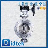 Клапан-бабочка вафли триппеля Didtek CF8m смещенная