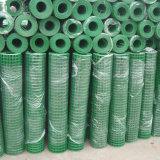 Belüftung-Puder beschichtete galvanisierten geschweißten Maschendraht Rolls für Zaun