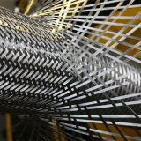 수평한 스테인리스 철망사 끈 기계