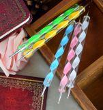 Precio al por mayor 3D Nail Art Pen colorido que salpican la pluma