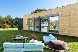 ココヤシマットは容器の家プロトタイプが付いている遊牧的な住居を想像する
