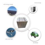 LiFePO4 batería 3.2V 100ah con la vida más larga sobre 2000cycles 100%Dod