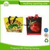 Sac d'emballage tissé par pp bon marché de supermarché pour promotionnel