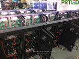 Im Freien Bildschirm LED-P8 mit guten wasserdichten Eisen-Schränken 1024 * 768 mm