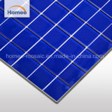 Foshan Non-Slip Mosaico Azul puro fabricantes mosaico de vidro exterior telhas