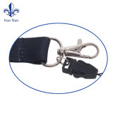 PVC Card를 가진 폴리에스테 Sublimation Printing Key Chain Lanyard