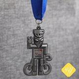 Qualitäts-kundenspezifischer antiker Laufring Jiu-Jitsu laufende Medaille