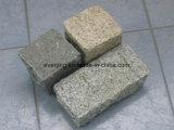 Preto natural /cinza/vermelho/amarelo Afogarem Pavimentadoras de pedras da calçada de granito