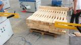 Paleta de madera automática y de alta velocidad que acanala la máquina